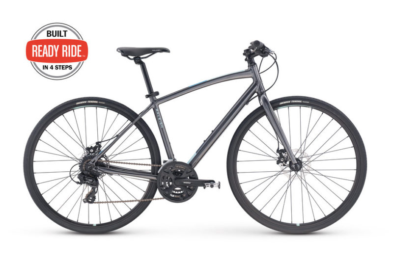 Review of the Raleigh Alysa 2 Women's Aluminum Disc Hybrid Bike